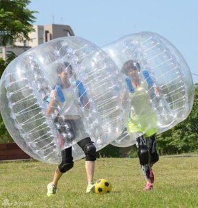 9. bola de parachoques inflable
