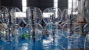 6. Balón de fútbol de burbujas - globos de combate