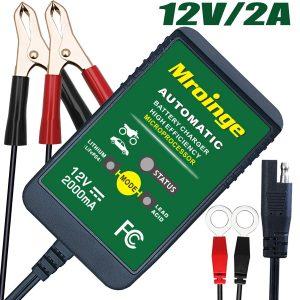 Cargador de batería de escorrentía automática Mroinge 12V