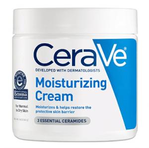 Crema hidratante CeraVe, 16 ml de crema hidratante diaria para rostro y cuerpo, para piel seca