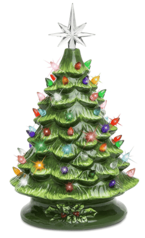 Best Choice Products Ceramic Christmas Tree Prelit
