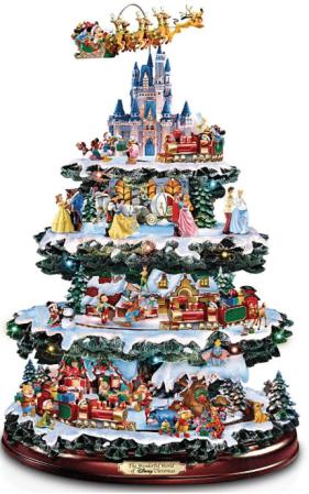 Bradford Exchange La mesa de Disney Árbol de Navidad