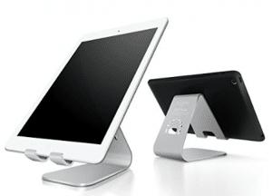 Soporte de tableta de aluminio y magnesio serie Spinido TI-APEX