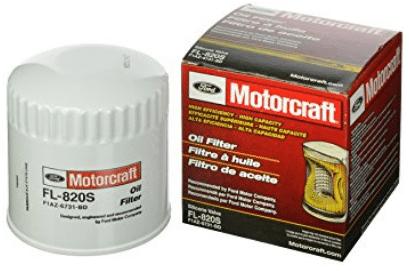 Motorcraft FL820S Filtro de aceite de válvula de silicona