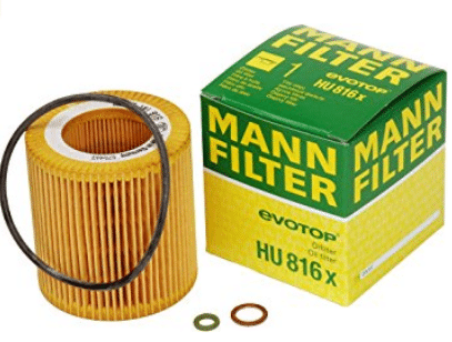 Mann-Filter HU 816 X Filtro de aceite sin metal