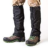 SOBIKE Resistente al desgaste Al aire libre Senderismo Polaina Impermeable Durable Alta nieve Leggings Zapatos Botas Cubierta Deportes de montaña