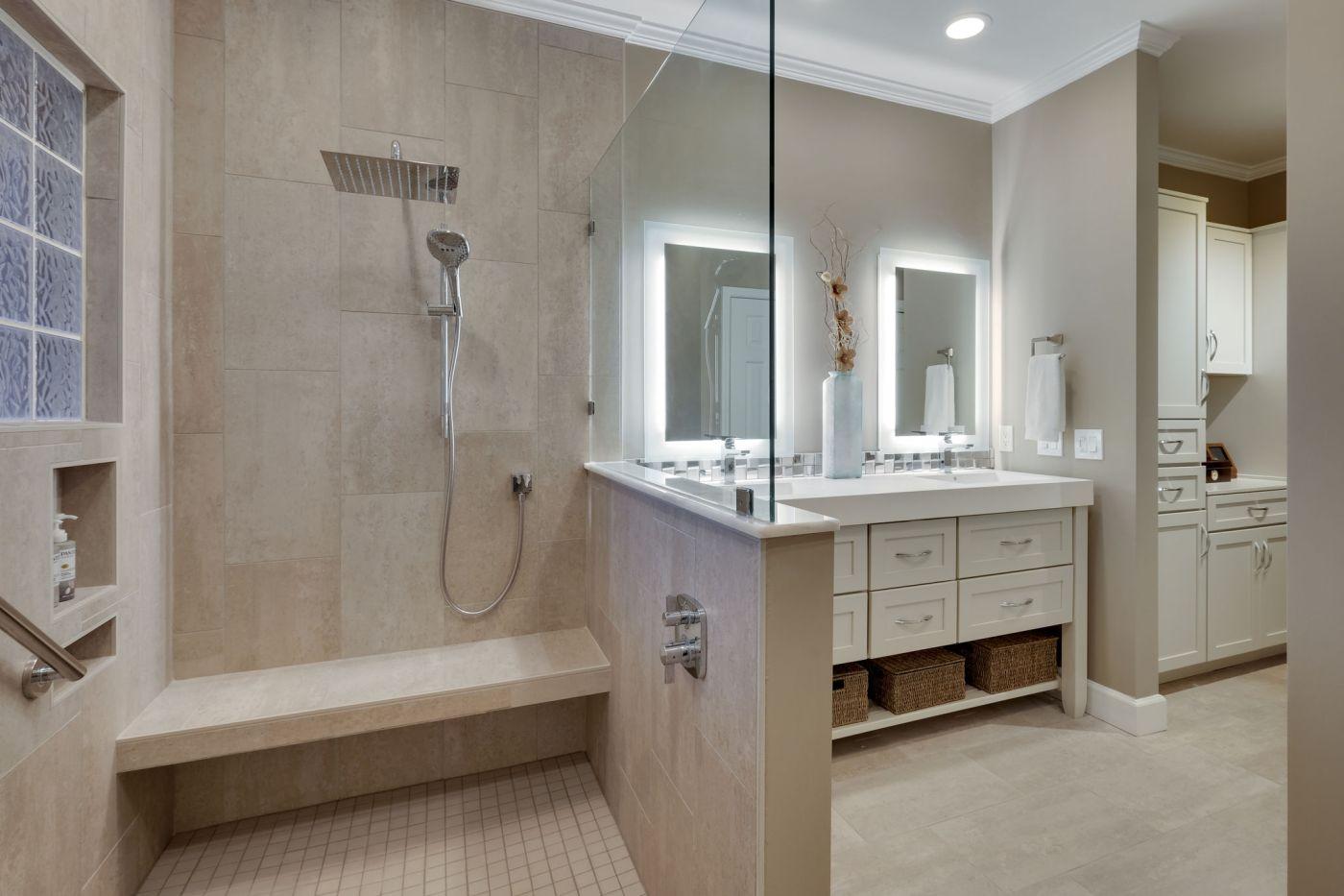 gorgeous bath remodel by our pdi