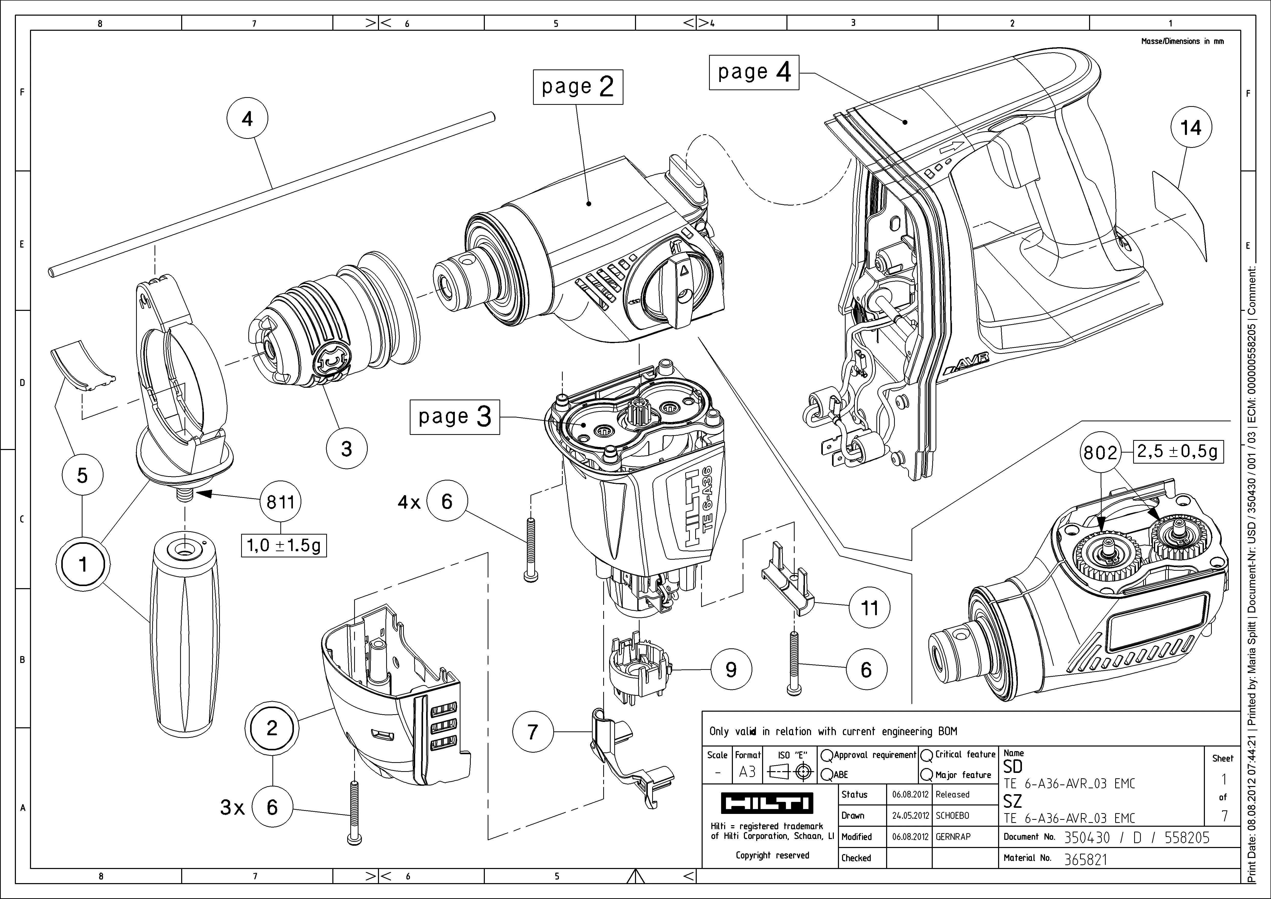 Hilti Te 15 Parts List. Wiring. Wiring Diagram Images
