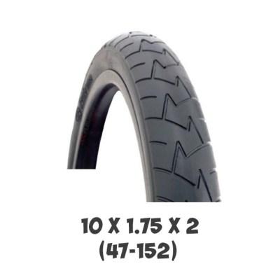 Покрышка Bogus 10x1.75x2 (47-152) для детской коляски