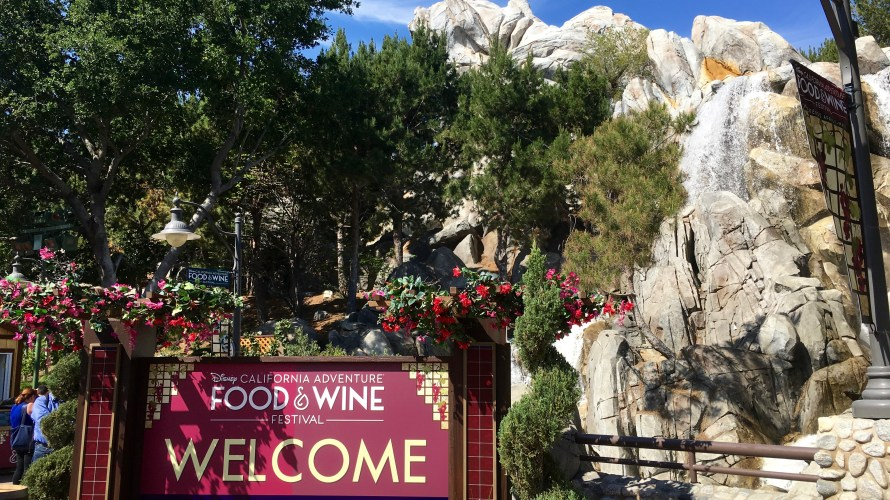 It's back! The Food & Wine festival that hasn't been at Disney California Adventure Park since 2010 has returns after DCA's long refurb has (just about) finished! Take a look […]
