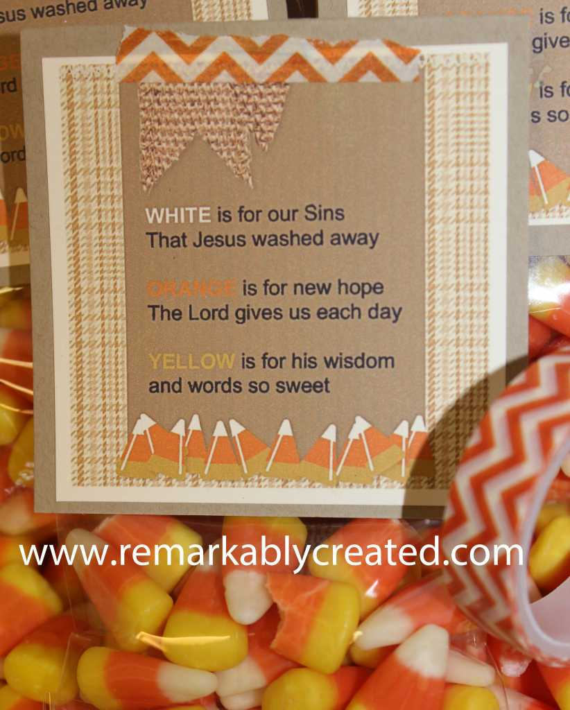 Candy Corn Poem  RemARKable Creations