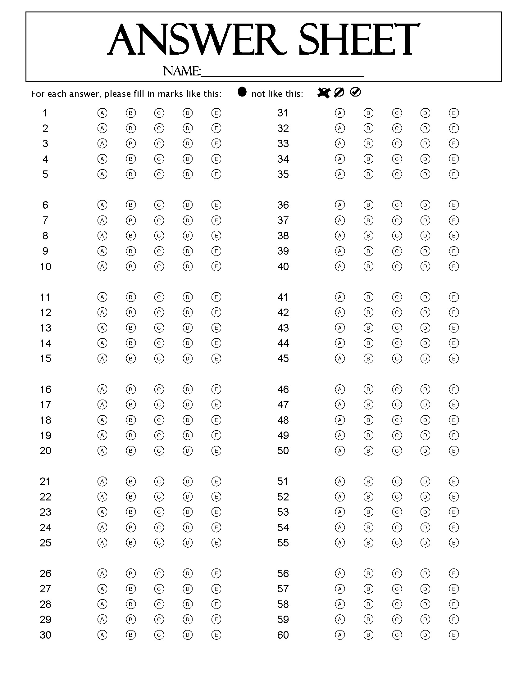 Answer Key Template. periodic trends worksheet answer key