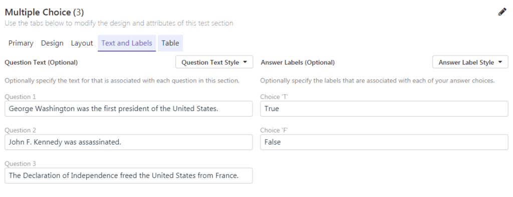 New Remark Test Grading Cloud Feature