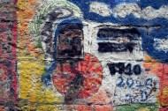 Man erkennt es kaum noch, aber hier soll daran erinnert werden, dass Anfang der Achtzigerjahre keine Geringere als die Halb-Heilige Mutter Teresa die protestantische Proletariats-Hochburg Karl-Marx-Stadt besuchte und dafür extra im Trabi über die DDR-Autobahn fuhr, um..