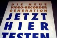 Wir wollten die neue Video-Rekorder-Generation testen. Jetzt. Hier. Aber der Laden hatte geschlossen.