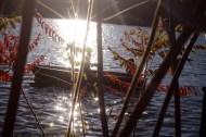 dem Kleinvenedig des Ostens. Die ersten Kreuzfahrschiffe der Saison (das ist zwar ein Foto aus dem Oktober, aber als Wunderblogger haben wir natürlich eine Zeitmaschine) legen am Hafen an.