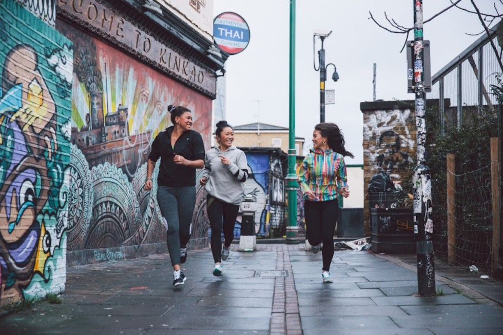 Food and Lycra Running London