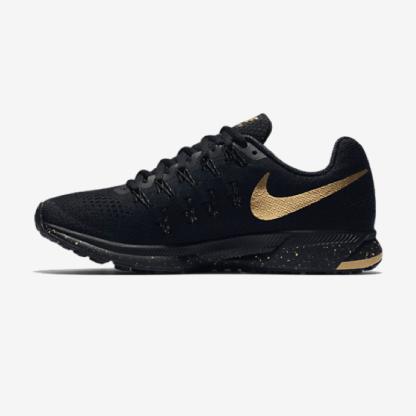 Nike Air Zoom Pegasus 33 Women's Running Shoe 'Black and