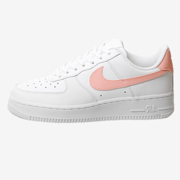 Nike Air Force 1 '07 Patent White Oracle Pink shoes