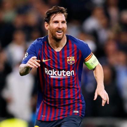 2018:19 FC Barcelona Home Football Shirt - Leo Messi