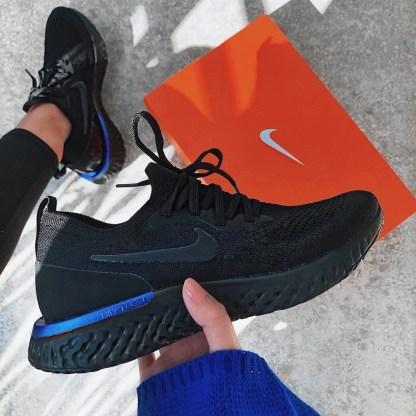 Nike Epic React Flyknit - Black