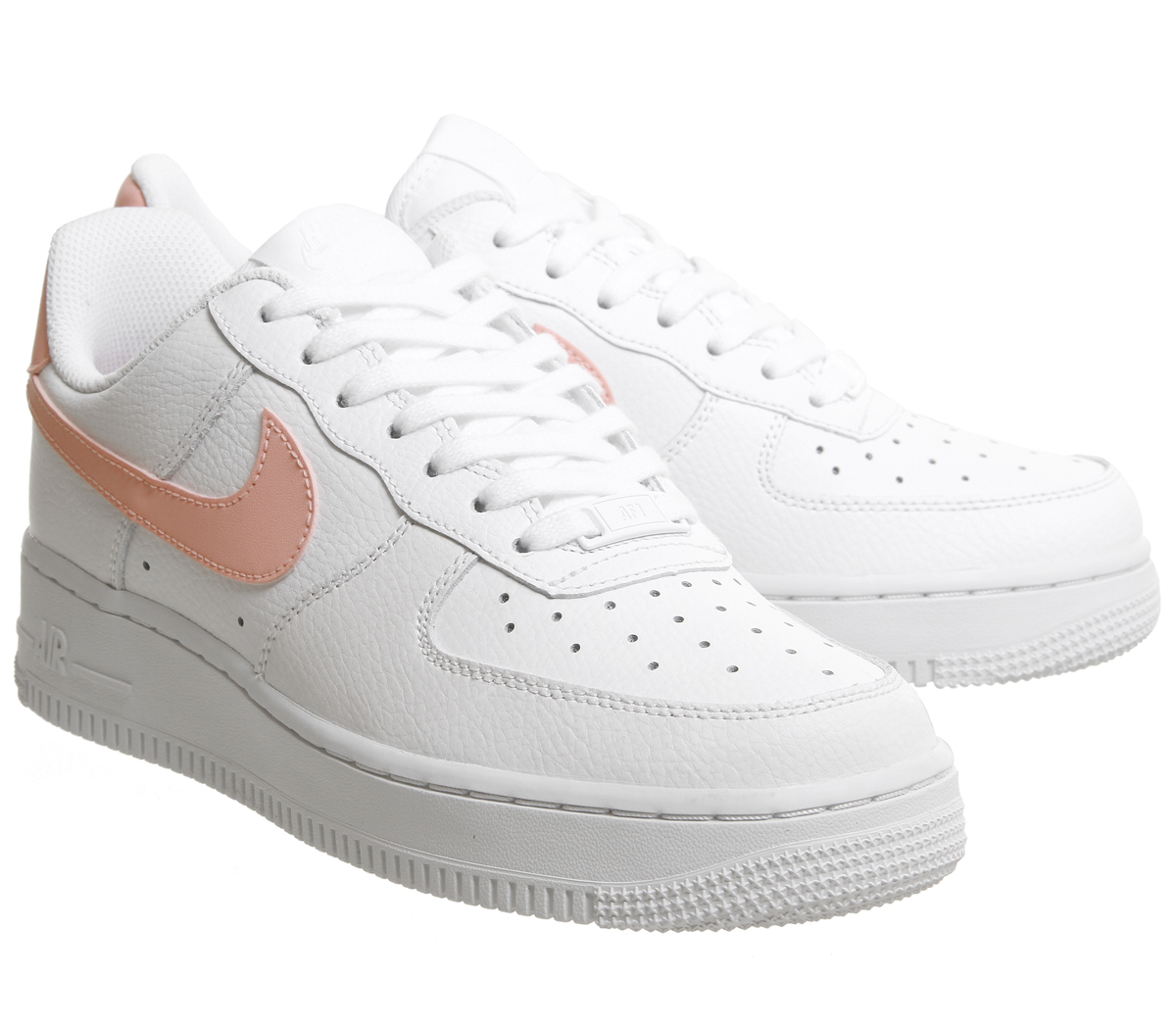 Nike Air Force 1 '07 Patent White Oracle Pink Rematch