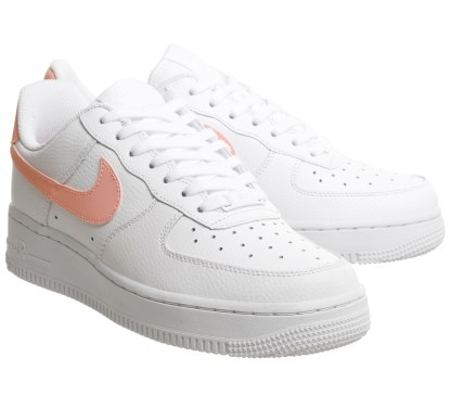 Nike Air Force 1 '07 Patent White Oracle Pink 3