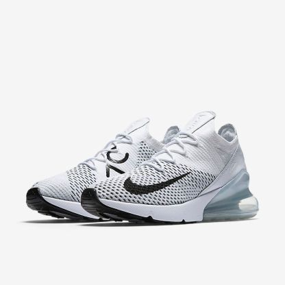 Nike Air Max 270 Flyknit White Platinum 4