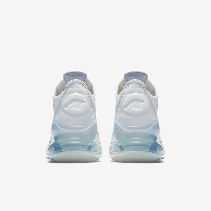 Nike Air Max 270 Flyknit White Platinum 5