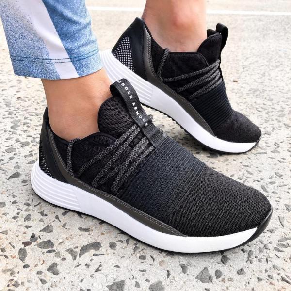 Under Armour Breathe Lace Training Shoes - Black