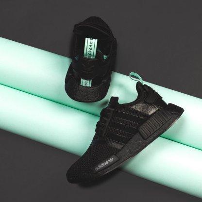 adidas NMD R1 Black Mint - AQ1102 6