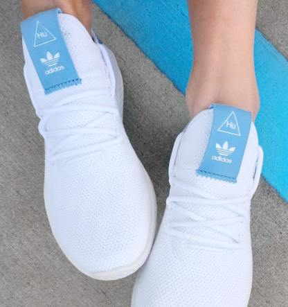 adidas Originals Pharrell Williams Tennis Hu - Blue 7