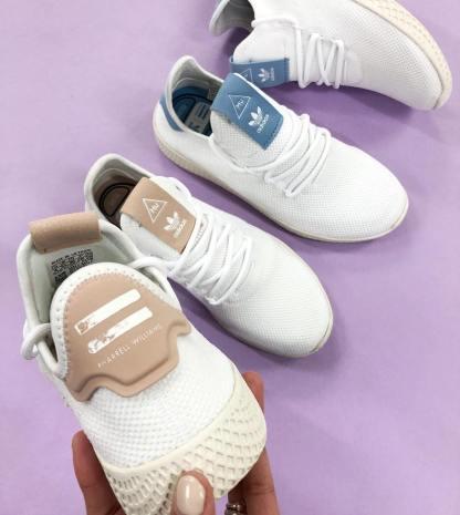 adidas Originals Pharrell Williams Tennis Hu - Blue 9