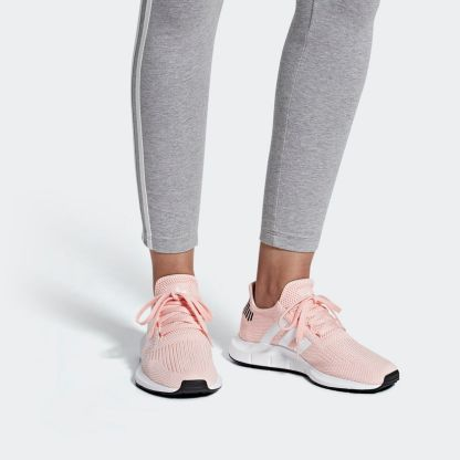 adidas Swift Run Shoes - Icey Pink 2