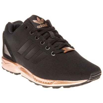 adidas ZX Flux Trainers – Black and Copper (Gold) 6