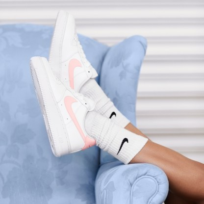 Nike Air Force 1 '07 Patent White Oracle Pink 10