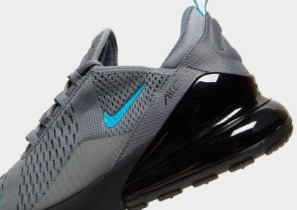 huge discount 463a6 2190e Nike Air Max 270 - Grey Black Blue