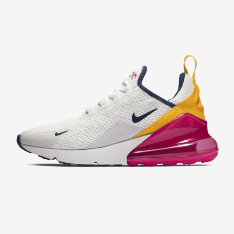 nike air max 270 blue red yellow
