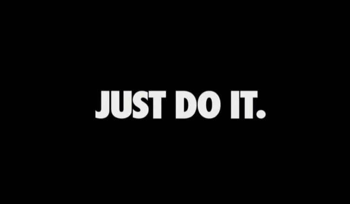 Just Do It - Nike Banner - 25 Off