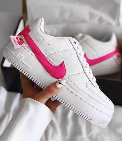 Nike Air Force 1 Jester XX Shoe – Pink White - cool 2019