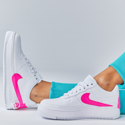 Nike Air Force 1 Jester XX Shoe - Pink White - cool colours