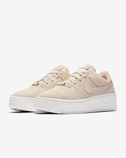 Nike Air Force 1 Sage Low - Beige - Shoes 2019 - pair