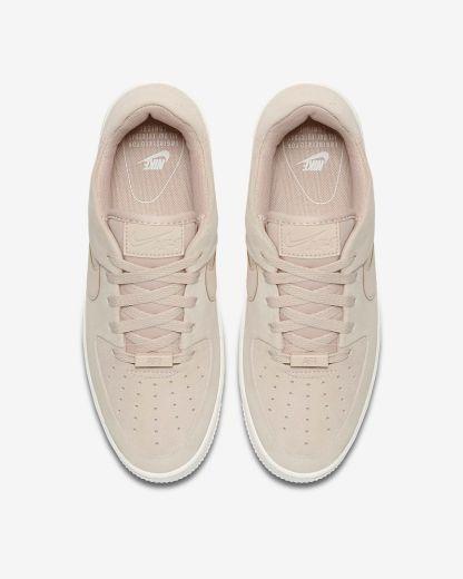 Nike Air Force 1 Sage Low - Beige - Shoes 2019 - top