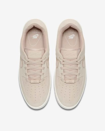 Nike Air Force 1 Sage Low - Beige - Shoes 2019 - top