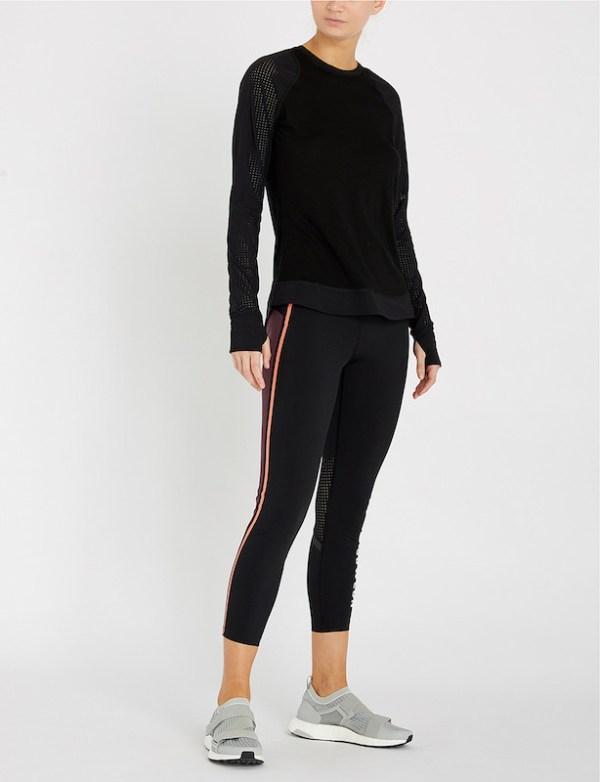 Sweaty Betty - Zero Gravity 7:8 Run Leggings - Size Small - front
