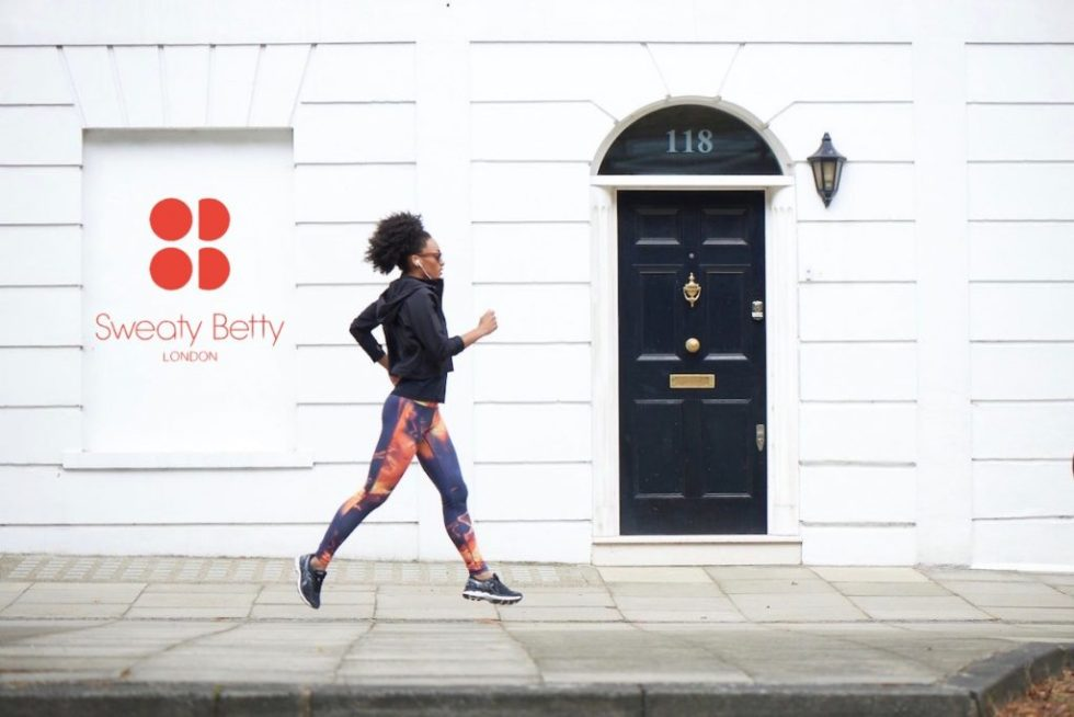 Sweaty Betty London Runner - SB Voucher Codes Banner