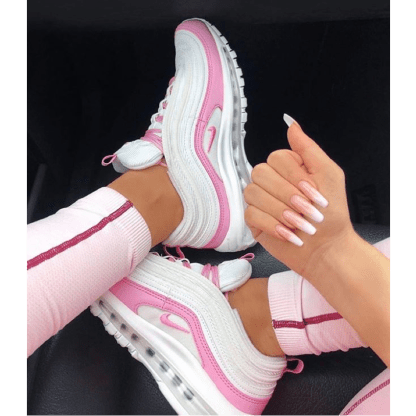 Air Max 97 pink white - Nike 2019 - very cool shoes