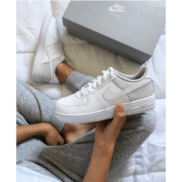 Nike Air Force 1 '07 Shoe - White - stylish sneakers