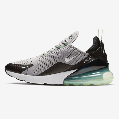 air max 270 black and mint green