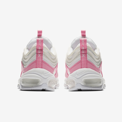 Nike Air Max 97 Essential Shoes - white pink - heels